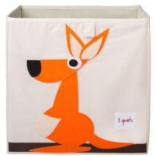 """Коробка для хранения """"Оранжевый кенгуру"""""""