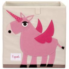 """Коробка для хранения """"Розовый единорог"""""""