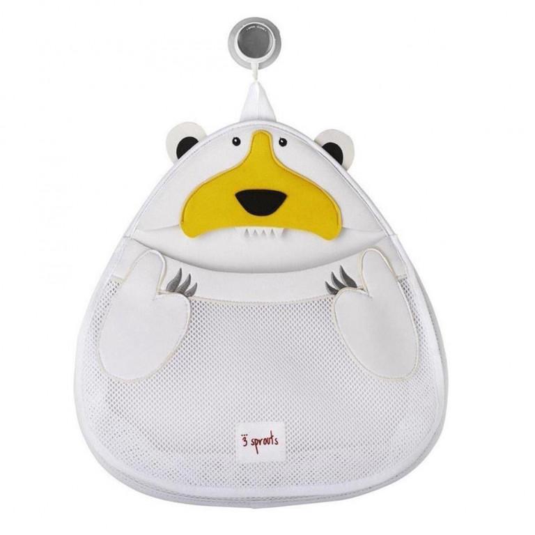 """Органайзер для ванной комнаты """"Белый мишка"""""""