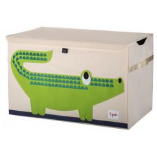 """Сундук для игрушек """"Зелёный крокодил"""""""