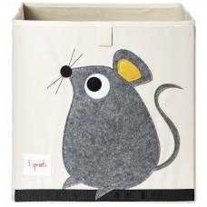 """Коробка для хранения """"Серая мышка"""""""