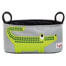 "Подвесная сумочка для коляски ""Крокодил"""