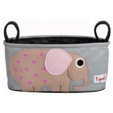 "Подвесная сумочка для коляски ""Слон"""