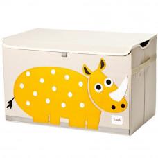 "Сундук для игрушек ""Жёлтый носорог"""