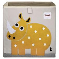 "Коробка для хранения ""Жёлтый носорог"""