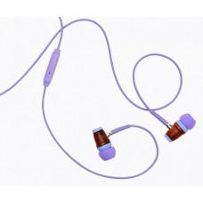 Наушники для детей с ограничением звука, от 5 лет, фиолетовые