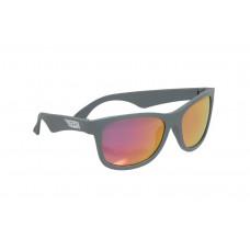Солнцезащитные очки Babiators Aces Navigator. Галактический серый (Galactic Grey). Розовые линзы (6+)
