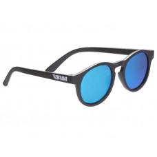 Солнцезащитные очки Babiators Blue Series Polarized Keyhole. Агент. Чёрные. Синие зеркальные линзы