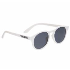 Солнцезащитные очки Babiators Original Keyhole. Шаловливый белый. Белые. Дымчатые.