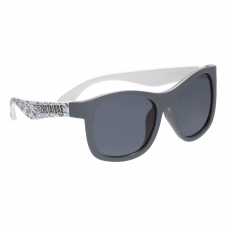 Солнцезащитные очки Babiators Printed Navigator. Акулистически! (Shark-tastic!). Дымчатые.