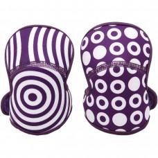 Наколенники, фиолетовые