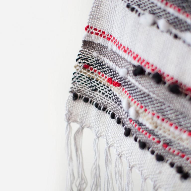Мягкий шарфик ручного ткачества New York
