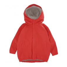 Куртка-парка, взрослая, красная
