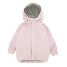Куртка-парка, взрослая, пудровая
