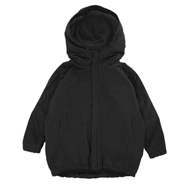 Куртка-парка, взрослая, чёрная