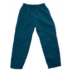 Штаны из плащевки Regular, сине-зеленые