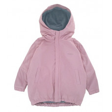 Куртка-парка, взрослая, розовая