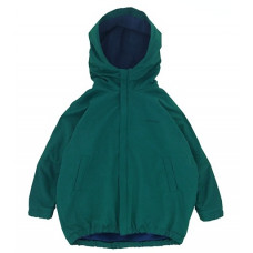 Куртка-парка, взрослая, изумрудная