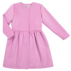 Пальто из кашемира, розовое