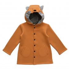 Пальто Fox, горчичное