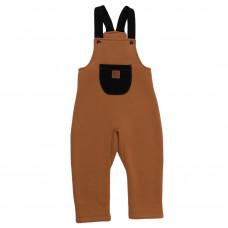 Комбинезон Strap Overalls, коричневый