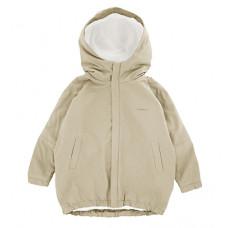 Куртка-парка, взрослая, бежевая