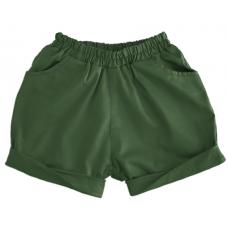Шорты, зеленые