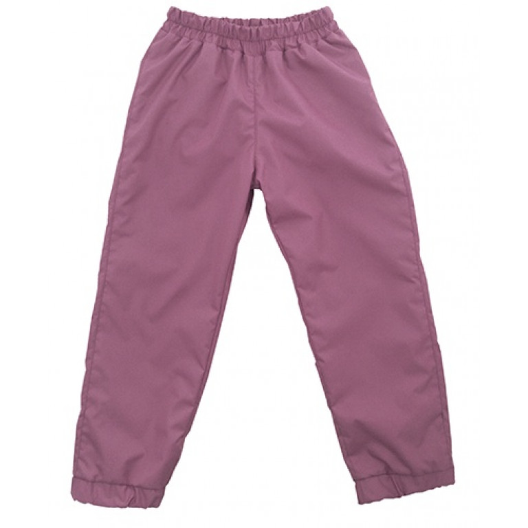 Штаны из плащевки Slim, розовые