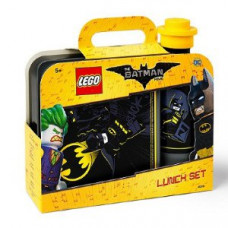 Набор ланч бокс и бутылочка Batman