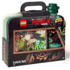 Набор ланч бокс и бутылочка Ninjago Movie