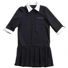 Платье-поло с  застежкой