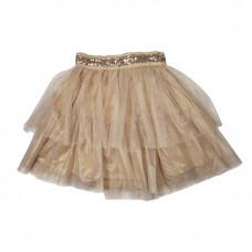 Пышная юбка, бежевая
