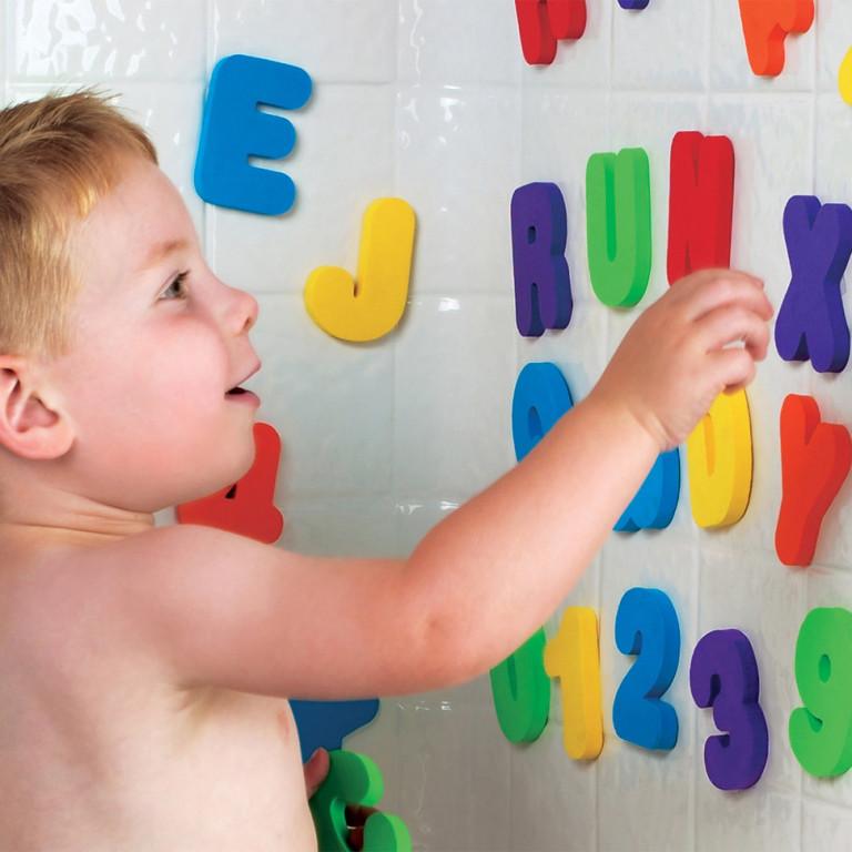 """Игрушка для ванной """" Английские буквы и Цифры"""""""