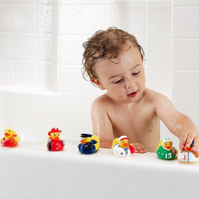 Игрушка для ванной «Уточки спасатели»