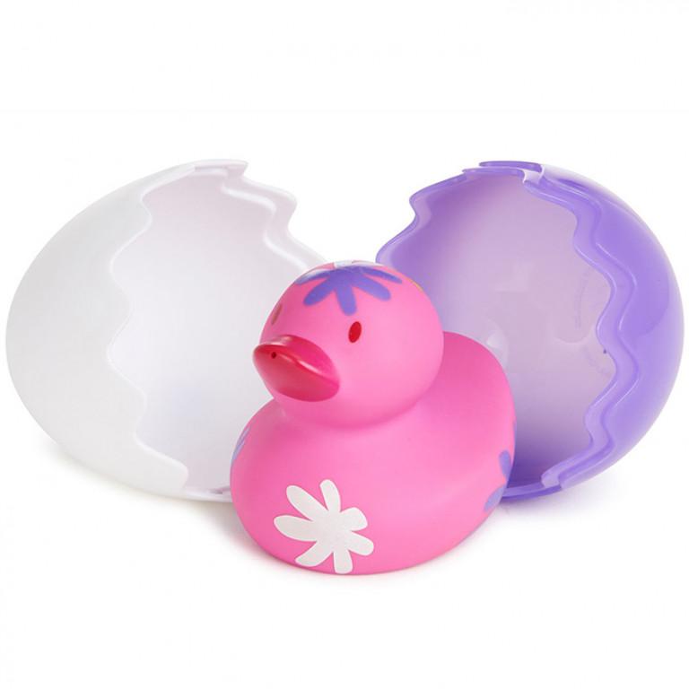 Игрушка для ванны Утенок, розовый