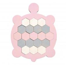 Черепаха-мозаика, розовая