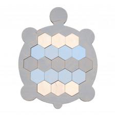 Черепаха-мозаика, серая