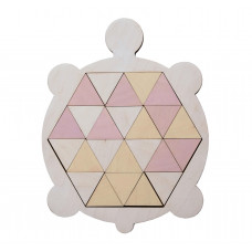 Черепаха-мозаика, треугольники