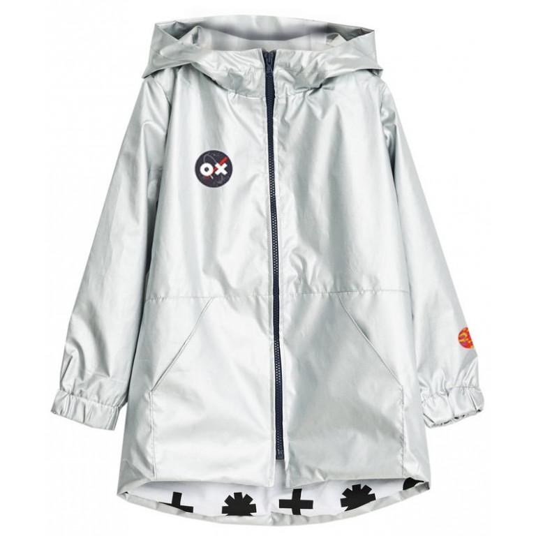 Куртка-парка OX WEAR, серебряный