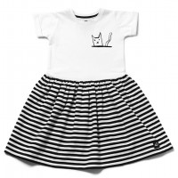 Платье KITTY STRIPES