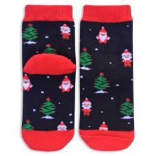 "Носки махровые ""Дед мороз и елка"""