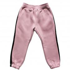 Штаны с лампасами, розовые