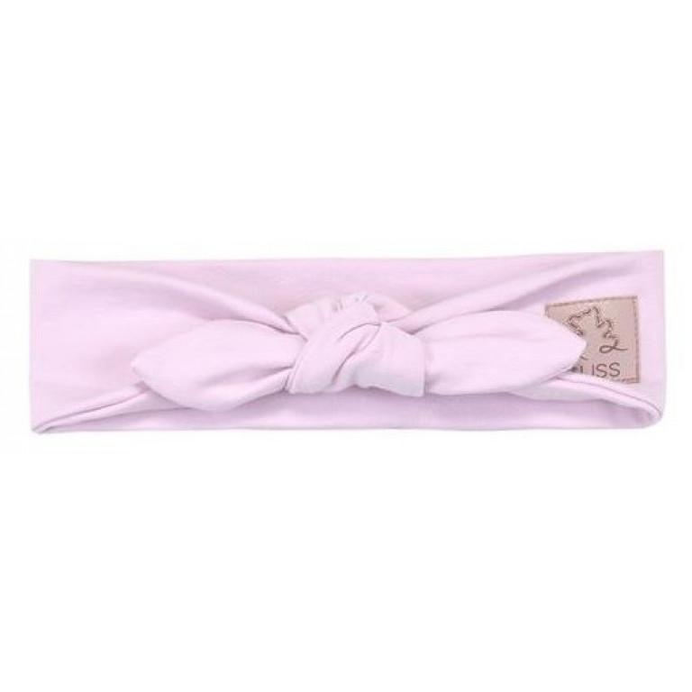 Трикотажная повязка на голову PIN-UP, розовая