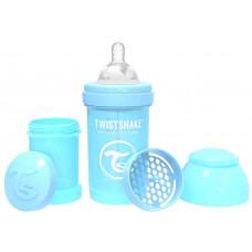 Антиколиковая бутылочка Twistshake для кормления, пастельный синий