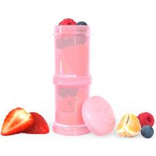Контейнеры для сухой смеси Twistshake, пастельный розовый