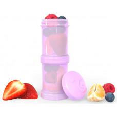 Контейнеры для сухой смеси Twistshake, пастельный фиолетовый