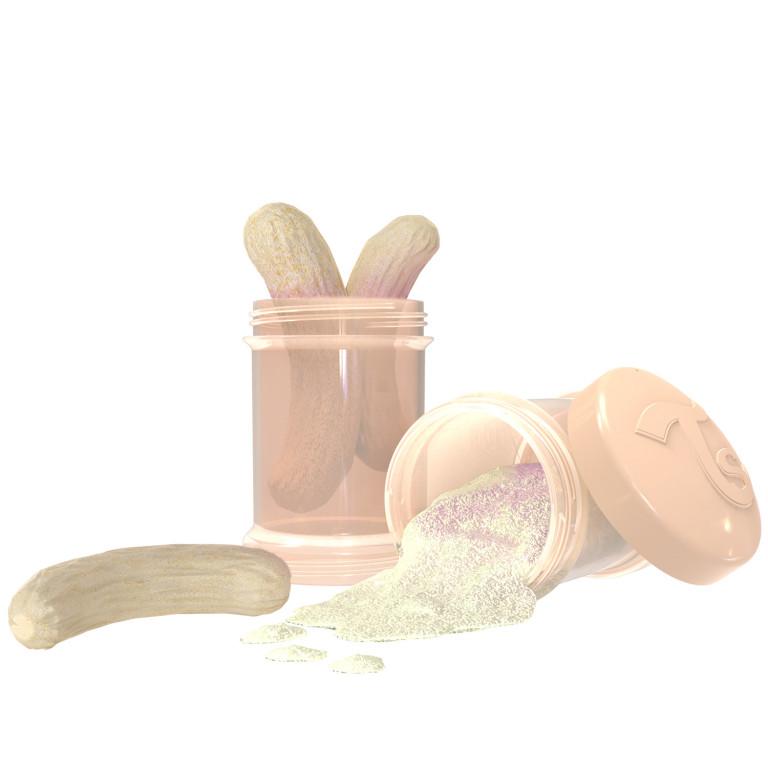 Контейнеры для сухой смеси Twistshake, пастельный бежевый