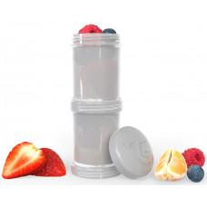 Контейнеры для сухой смеси Twistshake, пастельный серый