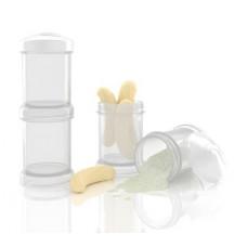 Контейнеры для сухой смеси Twistshake, белые