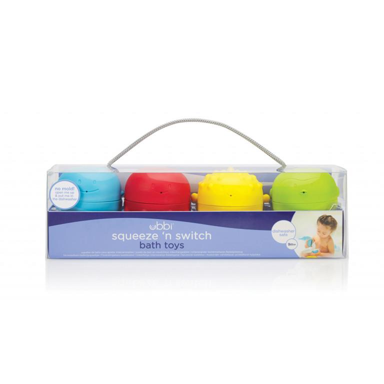 Сборный набор для ванной ( пингвин, рыбка, кит, осьминог)